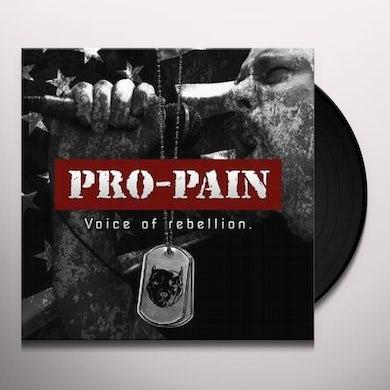 Pro-Pain VOICE OF REBELLION Vinyl Record
