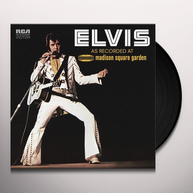 Elvis Presley: As Recorded At Madison Square Garden Vinyl Record