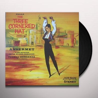 De Falla / Ansermet / Orchestre De Suisse MANUEL DE FALLA: 3 CORNERED HAT Vinyl Record