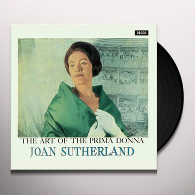 Joan Sutherland Art Of The Prima Donna Vinyl Record