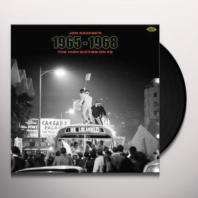Jon Savage'S 1965-1968: High Sixties On 45 / Var Vinyl Record