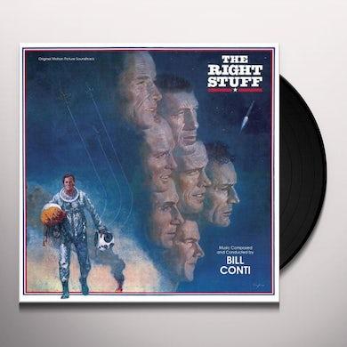 Bill Conti RIGHT STUFF / Original Soundtrack Vinyl Record