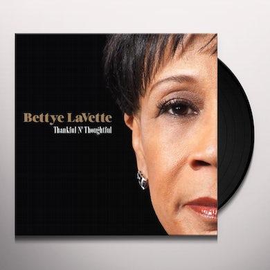 Bettye Lavette  THANKFUL N THOUGHTFUL Vinyl Record