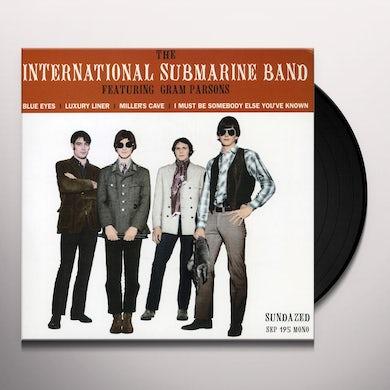 International Submarine Band BLUE EYES & LUXURY LINER & MILLER'S CAVE & I MUST Vinyl Record