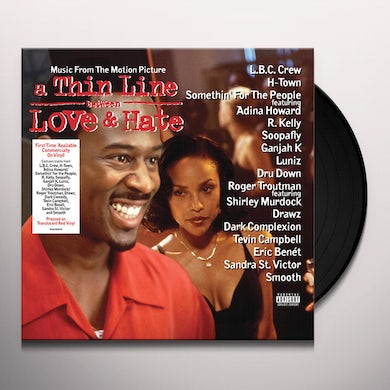 THIN LINE BETWEEN LOVE & HATE / MUSIC FROM MOTION Vinyl Record