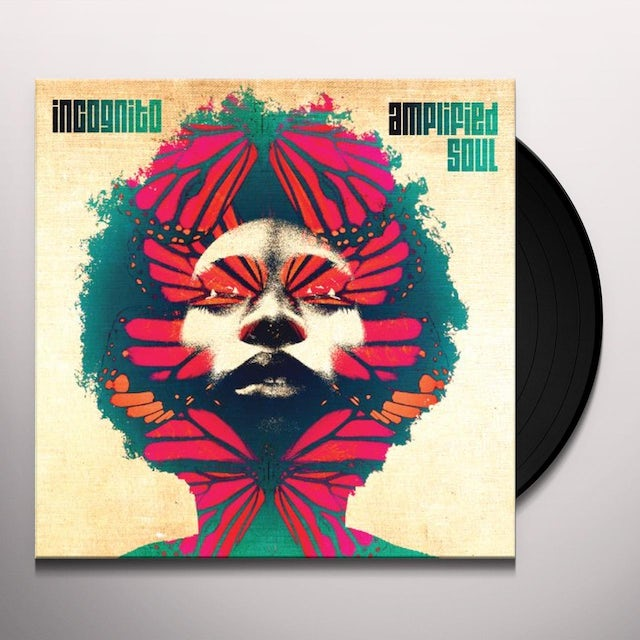 Incognito AMPLIFIED SOUL Vinyl Record