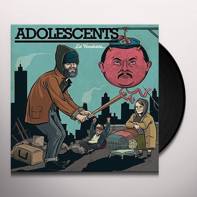Adolescents LA VENDETTA Vinyl Record