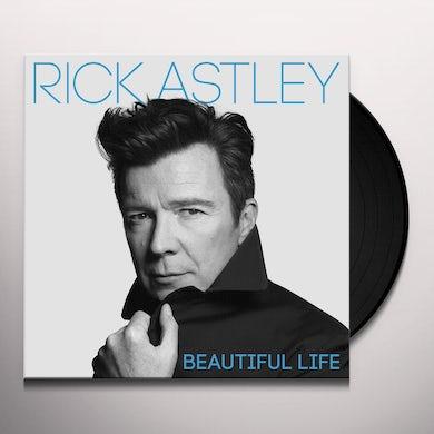 Rick Astley BEAUTIFUL LIFE Vinyl Record