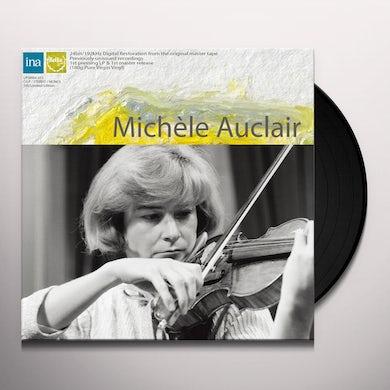 Michele Auclair WORKS BY BARTOK & SAINT-SAENS Vinyl Record