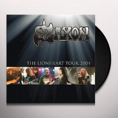 Saxon LIONHEART TOUR: 2004 Vinyl Record