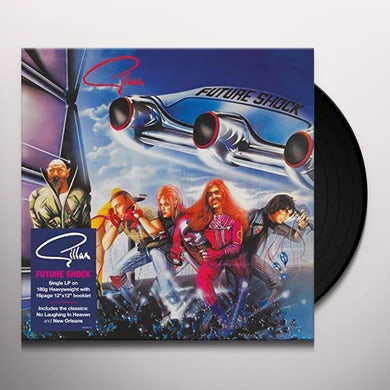 Gillan FUTURE SHOCK Vinyl Record