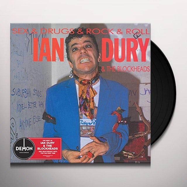 Ian Dury SEX & DRUGS & ROCK N ROLL Vinyl Record