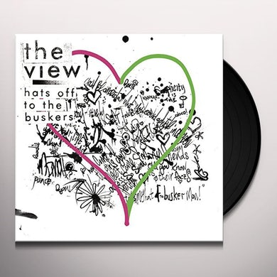 The View HATS OFF TO THE BUSKERS Vinyl Record
