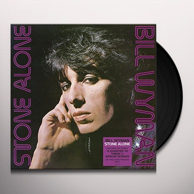 Bill Wyman STONE ALONE Vinyl Record