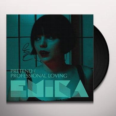 Emika PRETEND / PROFESSIONAL LOVING Vinyl Record