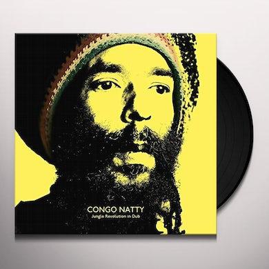 Congo Natty JUNGLE REVOLUTION IN DUB Vinyl Record