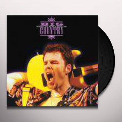 Big Country WITHOUT THE AID OF A SAFETY NET Vinyl Record