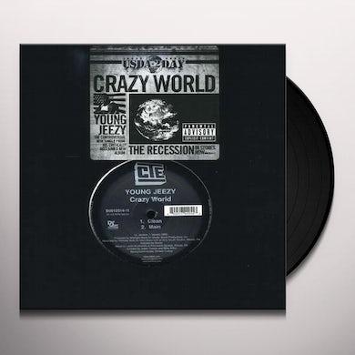 Jeezy CRAZY WORLD (X2) Vinyl Record