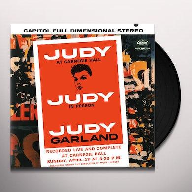 Judy Garland JUDY AT CARNEGIE HALL Vinyl Record