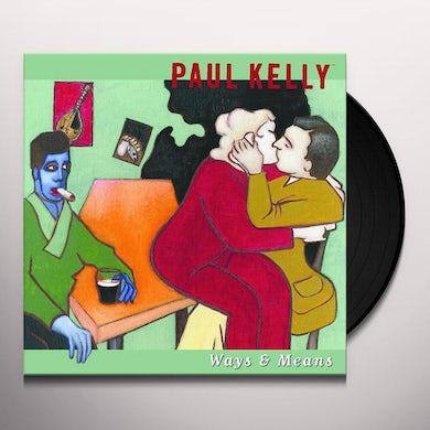 Paul Kelly WAYS & MEANS Vinyl Record