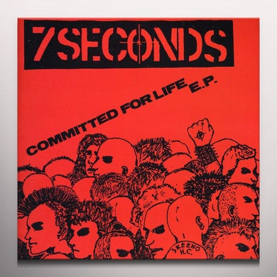 Seven Seconds COMMITTED FOR LIFE Vinyl Record