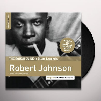 ROUGH GUIDE TO ROBERT JOHNSON: DELTA BLUES LEGEND Vinyl Record