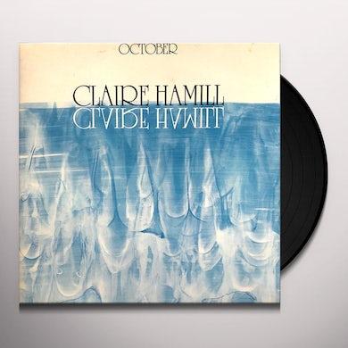 Claire Hamill OCTOBER Vinyl Record