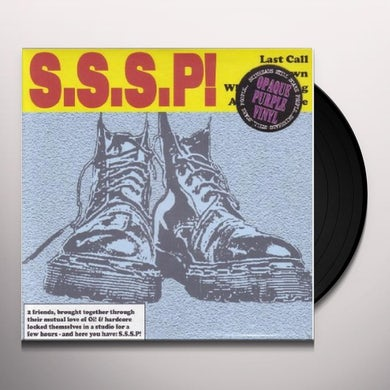 Sssp LAST CALL (EP) Vinyl Record