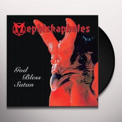 Mephiskapheles GOD BLESS SATAN Vinyl Record