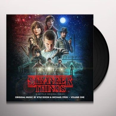 Kyle Dixon STRANGER THINGS 1 (NETFLIX ORIGINAL SERIES) - Limited Edition Transdimensional Blue Colored Vinyl Record