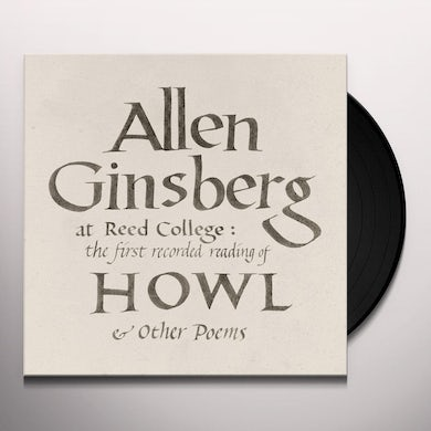Allen Ginsberg At Reed College: The First Recorded Read Vinyl Record