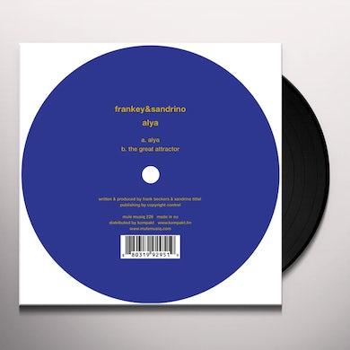 Frankey & Sandrino ALYA Vinyl Record