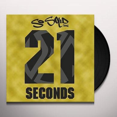 So Solid Crew 21 SECONDS Vinyl Record