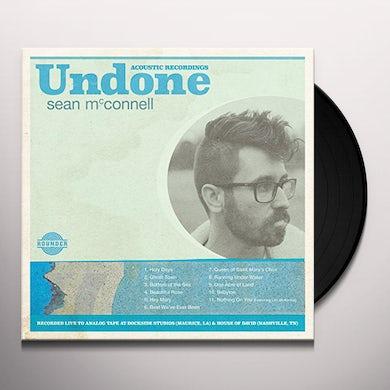 Sean Mcconnell UNDONE Vinyl Record