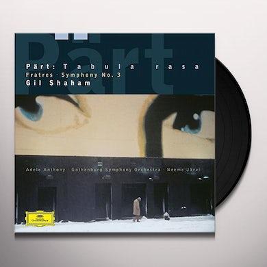 Shaham / Jarvi / Goteborgs Symfoniker ARVO PART: FRATRES / TABULA RASA / SYMPHONY NO 3 Vinyl Record