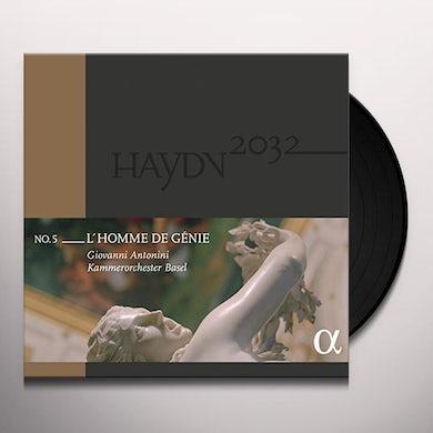 Haydn L'HOMME DE GENIE Vinyl Record