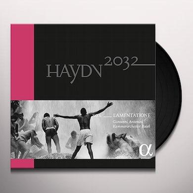Haydn / Basel LAMENTATIONE Vinyl Record