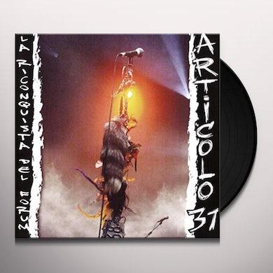 LA RICONQUISTA DEL FORUM: LIVE Vinyl Record