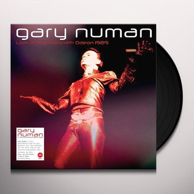 GARY NUMAN: LIVE AT HAMMERSMITH ODEON 1989 Vinyl Record