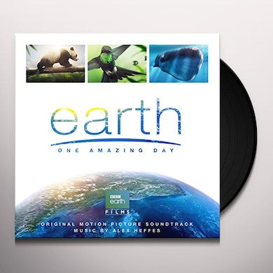 Alex Heffes EARTH Vinyl Record