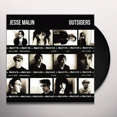 Jesse Malin OUTSIDERS Vinyl Record