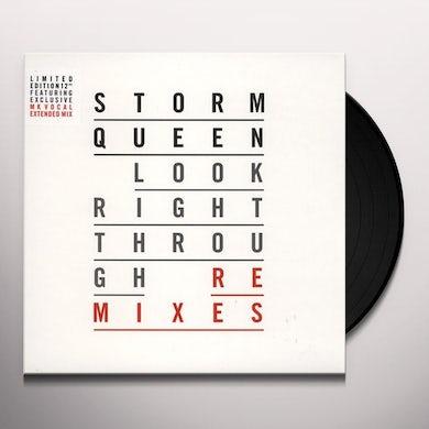 Storm Queen LOOK RIGHT THROUGH (REMIXES) Vinyl Record - UK Release