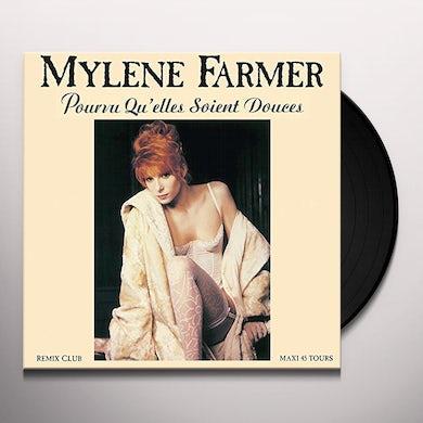 Mylène Farmer POURVU QU'ELLES SOLENT DOUCHES Vinyl Record
