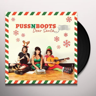Puss N Boots DEAR SANTA Vinyl Record