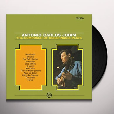 Antonio Carlos Jobim COMPOSER OF DESAFINADO PLAYS Vinyl Record