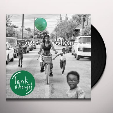 Tank and the Bangas GREEN BALLOON Vinyl Record