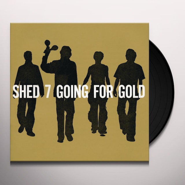 Shed Seven GOING FOR GOLD Vinyl Record