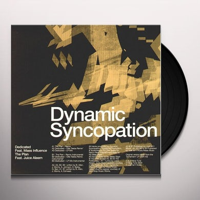 Dynamic Syncopation Dedicated Ft. Mass Influence Vinyl Record