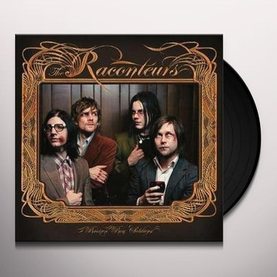 The Raconteurs BROKEN BOY SOLDIERS Vinyl Record - UK Release