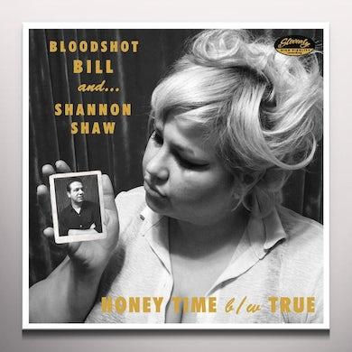 Bloodshot Bill HONEY TIME Vinyl Record - Green Vinyl, Limited Edition